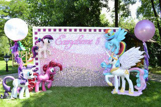 Фотозона «My little pony»